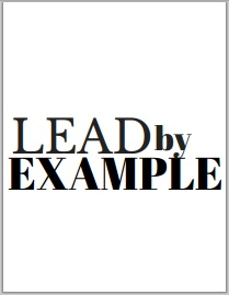 kind and simple blog motivational monday image 005 - lead by example